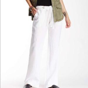 Sanctuary White Linen Pants Size 29